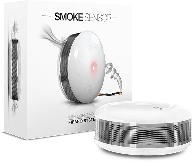 Fibaro dūmų detektorius.