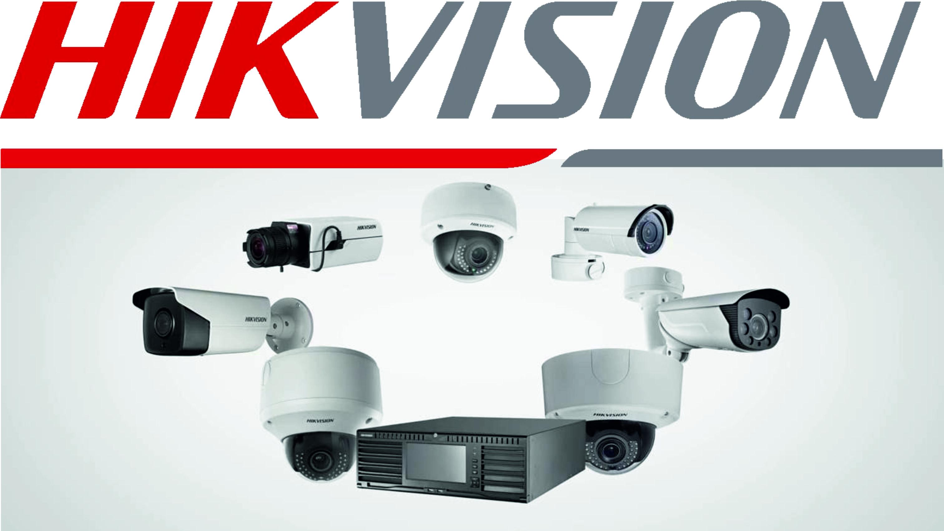 HIKVISION vaizdo stebejimo sistemos